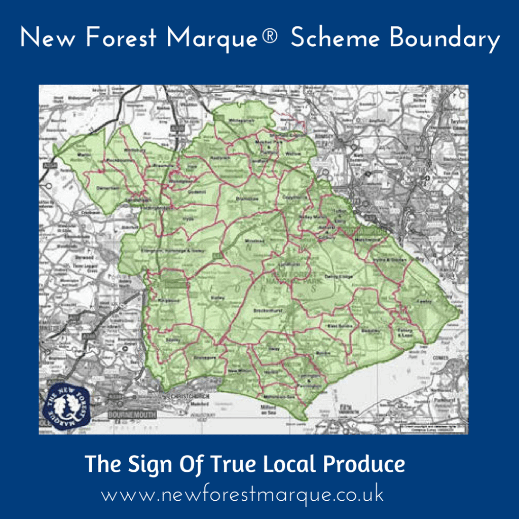 New Forest Marque Scheme Boundary