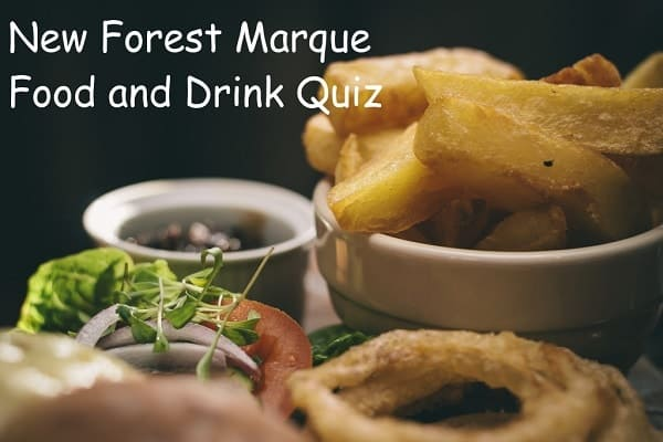 New Forest Marque Food and Drink Quiz – 4 November 2016