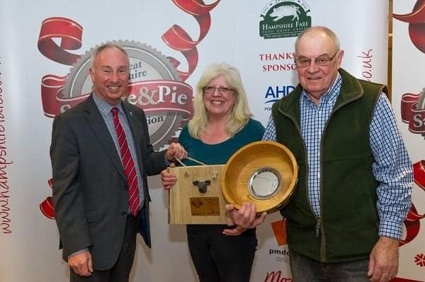 Tatchbury Manor Farm scores a hat trick at the Great Hampshire Sausage and Pie Competition
