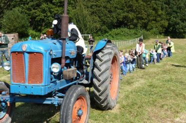 Discover a bygone rural age at the Longdown Vintage Farm Rally