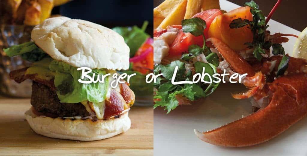 Burger or Lobster