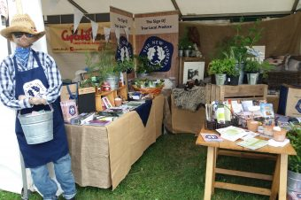 New Forest Marque stand ready for the New Forest Show