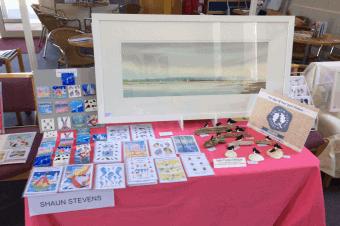 Shaun Stevens will be exhibiting at the Lymington Arts Festival