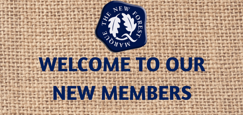 A huge welcome to some new members