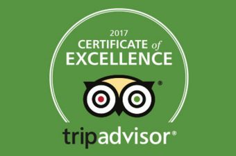 The Bay Trees are awarded Tripadvisor Certificate of Excellence 2017