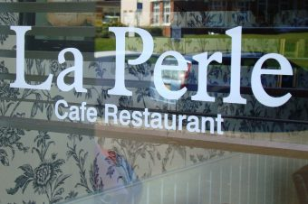 Free carafe of wine per couple when booking a Christmas Party at La Perle in October!