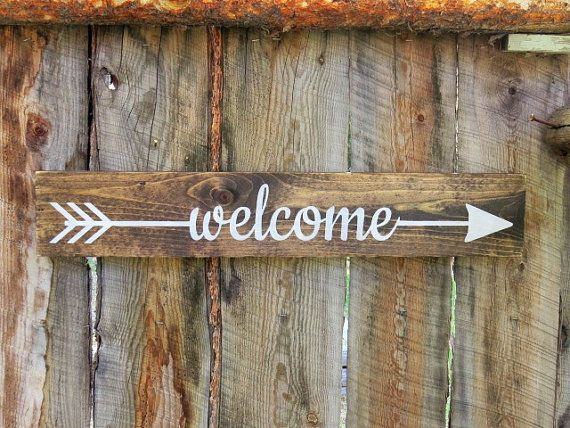 Welcome Sign Decor Prepossessing Best 25 Wooden Welcome Signs Ideas On Pinterest  Welcome Wood Design Decoration