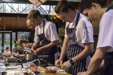 New Forest Marque members enjoy the Night with the Chef's at Beaulieu