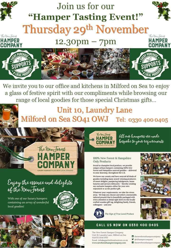 New Forest Hampers