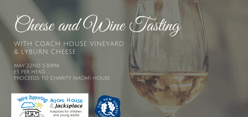 Wine and Cheese Tasting Event with New Forest Marque producers