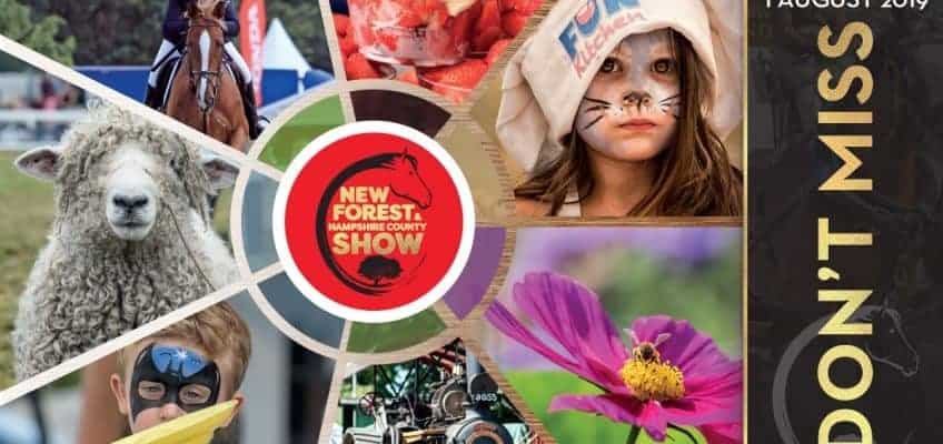 Look out for the New Forest Marque at this years New Forest Show