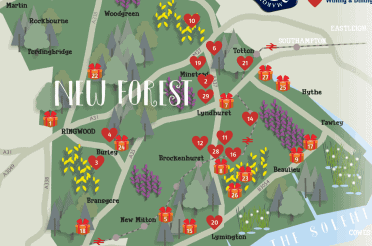 Celebrate Valentines Day with the New Forest Marque