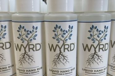 Wyrd Gin offers 100 bottles of their new hand sanitiser to the local elderly and vulnerable good causes